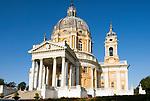 Italien, Piemont, Hauptstadt Turin: Basilica di Superga auf dem Colle di Superga, Huegellandschaft Collina Torinese | Italy, Piedmont, capital Torino: Basilica di Superga at Colle di Superga