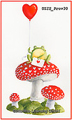 Ingrid, VALENTINE, VALENTIN, paintings+++++,USISPROV30,#v#, EVERYDAY,toadstools,frog ,sticker,stickers