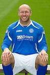 St Johnstone FC...Season 2011-12.Sam Parkin.Picture by Graeme Hart..Copyright Perthshire Picture Agency.Tel: 01738 623350  Mobile: 07990 594431