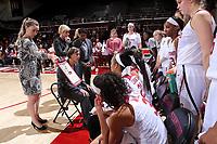Stanford, CA - November 17, 2017:  Stanford Women's Basketball wins over UC Riverside 53-43 at Maples Pavilion.