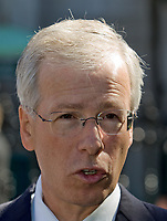 Stock photo of StÈphane Dion, current leader of the Liberal Party of Canada and Leader of Her Majesty's Loyal Opposition in the Canadian House of Commons. Since 1996, he has been the Member of Parliament for the riding of Saint-Laurent?Cartierville in Montreal.<br /> <br /> PHOTO :  Francis Vachon - Agence Quebec Presse
