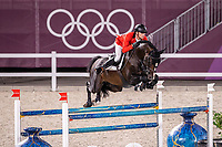 BEL-Jerome Guery rides Quel Homme de Hus during the Jumping Individual Qualifier. Tokyo 2020 Olympic Games. Tuesday 3 August 2021. Copyright Photo: Libby Law Photography