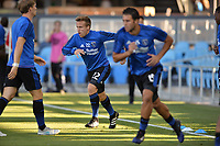 San Jose, CA - Monday July 10, 2017: Tommy Thompson prior to a U.S. Open Cup quarterfinal match between the San Jose Earthquakes and the Los Angeles Galaxy at Avaya Stadium.