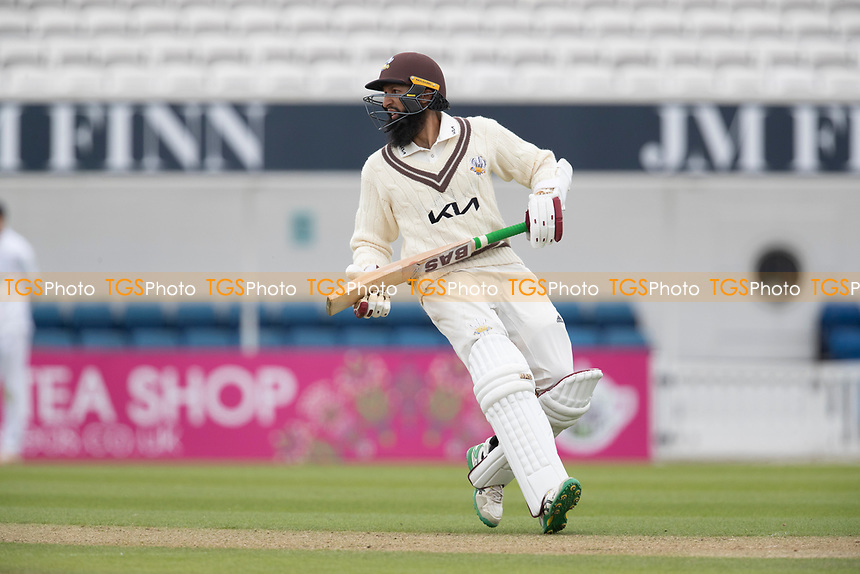 Hashim Amla, Surrey CCC during Surrey CCC vs Hampshire CCC, LV Insurance County Championship Group 2 Cricket at the Kia Oval on 30th April 2021