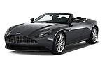 2019 Aston Martin DB11-Volante - 2 Door Convertible Angular Front stock photos of front three quarter view