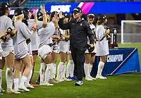 Stanford, CA - December 8, 2019: Paul Ratcliffe at Avaya Stadium. The Stanford Cardinal won their 3rd National Championship, defeating the UNC Tar Heels 5-4 in PKs after the teams drew at 0-0.