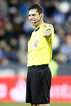 Spanish referee Daniel Jesus Trujillo Suarez during La Liga match. January 28,2017. (ALTERPHOTOS/Acero)
