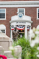 Exterior of the JFK Museum, Hyannis, Cape Cod, Massachusettes,, USA