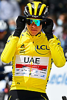 July 13th 2021, Saint-Gaudens, Haute-Garonne, France: POGACAR Tadej (SLO) of UAE TEAM EMIRATES during stage 16 of the 108th edition of the 2021 Tour de France cycling race, a stage of 169 kms between El Pas de la Casa and Saint-Gaudens.
