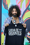 Ara Malikian attends to 'Lucha de gigantes' project presentation at Teatro Real in Madrid, Spain. September 10, 2018. (ALTERPHOTOS/A. Perez Meca)