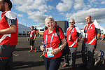 Glasgow 2014 Commonwealth Games<br /> Flag raising ceremony to welcomes Team Wales to the athletes village.<br /> Anne Ellis<br /> 21.07.14<br /> ©Steve Pope-SPORTINGWALES