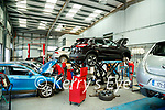The service area at Randles brothers, Nissan dealers in Tralee.