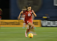San Diego, Ca - Sunday, January 21, 2018: Christen Press during a USWNT 5-1 victory over Denmark at SDCCU Stadium.