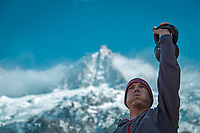 Magnetic Mountains is an independent documentary that follows the story of an everyman who, after falling from an Alpine north face, is struggling to find a balance. Featuring some of the biggest names in mountain sports, it will explore the psychology of risk taking in the mountains, asking – is it really worth it?