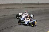 Alexander Rossi, Andretti Autosport Honda, Will Power, Team Penske Chevrolet