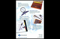 Innotek Ltd - Machine Tools Brochure - Park Royal, London, NW10 - December 1997
