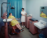 Parkview Nursing Home, Dentist office with nurse and patient