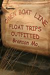 Owen Boat LIne Float Trip Outfitter Branson Missouri old Truck