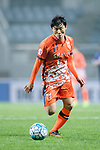 Jeju United Forward Hwang Ilsu in action during the AFC Champions League 2017 Group H match Between Jeju United FC (KOR) vs Gamba Osaka (JPN) at the Jeju World Cup Stadium on 09 May 2017 in Jeju, South Korea. Photo by Marcio Rodrigo Machado / Power Sport Images