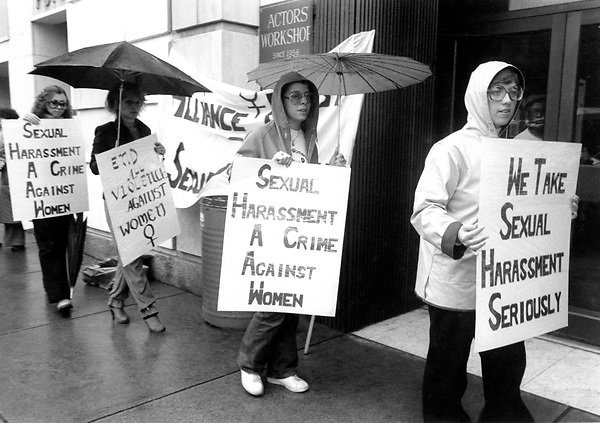 The Alliance Against Sexual Coercion pickets in front of the Actor's Workshop Boston MA 5.24.79