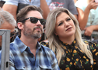 """11 June 2020 - Kelly Clarkson files for divorce from husband Brandon Blackstock. The """"Voice"""" coach and Blackstock, a music manager, have been married since October 2013 and have two children together, River Rose and Remington Alexander. Blackstock also has two children from a previous marriage. File photo: 22 August 2018 - Hollywood, California - Brandon Blackstock and Kelly Clarkson. Simon Cowell Honored With Star On The Hollywood Walk Of Fame. Photo Credit: Faye Sadou/AdMedia"""