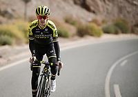 Mikel Nieve (ESP/Mitchelton-Scott)<br /> <br /> Mitchelton-Scott training camp <br /> Almeria, Spain<br /> february 2019<br /> <br /> ©kramon