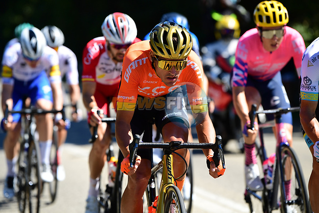 Olympic Champion Greg Van Avermaet (BEL) CCC Team in the breakaway during Stage 6 of Tour de France 2020, running 191km from Le Teil to Mont Aigoual, France. 3rd September 2020.<br /> Picture: ASO/Pauline Ballet | Cyclefile<br /> All photos usage must carry mandatory copyright credit (© Cyclefile | ASO/Pauline Ballet)