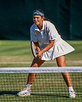 London, England, June 28, 1991, Tennis, Wimbledon, Noelle van Lottum (NED)  <br /> Photo: Tennisimages.com/Henk Koster