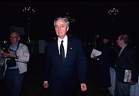 May1988 File Photo - Paul Desmarais attend Power Corporation of Canada's annual meeting held at the Ritz-Carlton in Montreal, Canada.<br /> <br /> Desmarais passed away October 10, 2013. He was 86 years old<br />  - PHOTO D'ARCHIVE :  Agence Quebec Presse