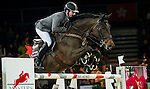 Philipp Weishaupt of Germany riding Carinou in action during the Longines Grand Prix as part of the Longines Hong Kong Masters on 15 February 2015, at the Asia World Expo, outskirts Hong Kong, China. Photo by Victor Fraile / Power Sport Images