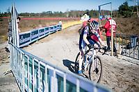 Puck Pieterse (NED/Alpecin-Fenix)<br /> <br /> Elite Women's Race<br /> 2021 UCI cyclo-cross World Cup - Zonhoven (BEL)<br /> <br /> ©kramon