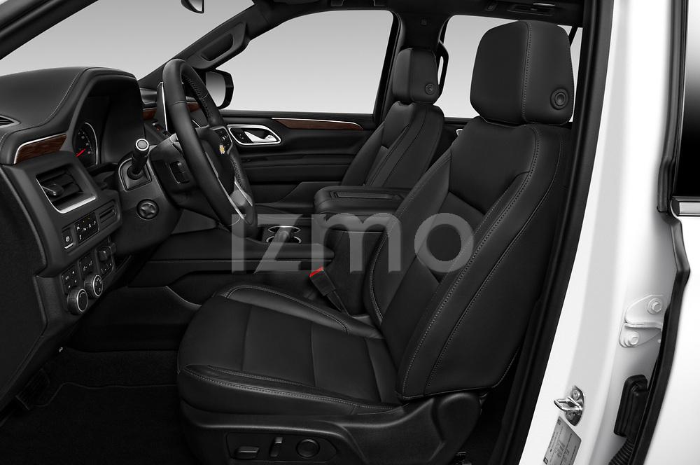 Front seat view of 2021 Chevrolet Tahoe LT 5 Door SUV Front Seat  car photos