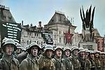 Military parade on Red Square, November 7, 1936, Moscow. / Военный парад на Красной площади, 7 ноября 1936, г. Москва.