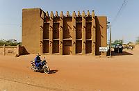 MALI, Bandiagara, Dogon Land , clay architecture Palais Agubou Tall de Bandiagara / Lehmbauten