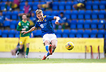 St Johnstone v Preston North End…13.07.21  McDiarmid Park<br />Ali McCann's shot is saved<br />Picture by Graeme Hart.<br />Copyright Perthshire Picture Agency<br />Tel: 01738 623350  Mobile: 07990 594431