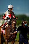 June 4, 2021:  Baron Samedi with John Velazquez aboard wins the Belmont gold Cup Stakes at Belmont Park in Elmont, New York on June 4, 2021. Evers/Eclipse Sportswire/CSM