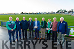 Some of the founding members of Na Gaeil GAA Club.<br /> L to r: Tim Lynch, Johnny Maunsell, Jim Fitzgibbon, Harold Behan, Donal Leahy, Donal Lucey, Mary Maunsell, Joe Clifford and Sean O'Connor.