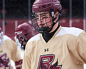 Mike Booth (BC - 12) - The Boston College Eagles practiced at Fenway on Friday, January 6, 2017, in Boston, Massachusetts.