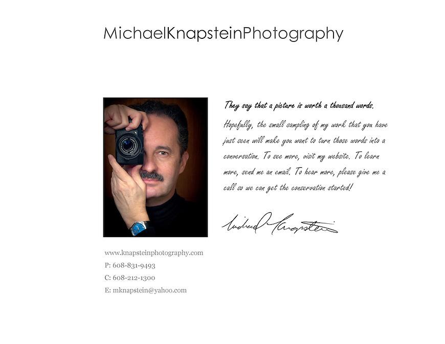 International award-winning fine-art photographer Michael Knapstein