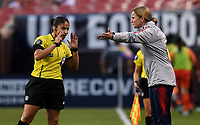 Cleveland, Ohio - Tuesday June 12, 2018: Jill Ellis during an international friendly match between the women's national teams of the United States (USA) and China PR (CHN) at FirstEnergy Stadium.