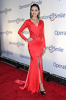 NEW YORK CITY, NY, USA - MAY 01: Elvira Devinamira at the Operation Smile Event held at Cipriani Wall Street on May 1, 2014 in New York City, New York, United States. (Photo by Jeffery Duran/Celebrity Monitor)