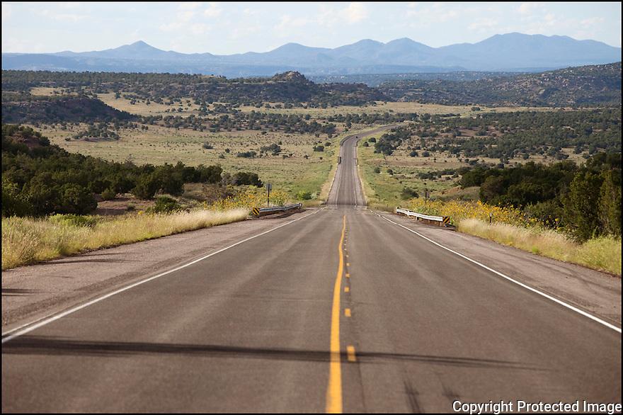 Nouveau Mexique-Route 66<br /> Sur la route de Santa Fe