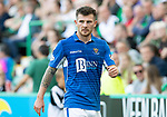 Hibs v St Johnstone….24.08.19      Easter Road     SPFL <br />Matty Kennedy<br />Picture by Graeme Hart. <br />Copyright Perthshire Picture Agency<br />Tel: 01738 623350  Mobile: 07990 594431