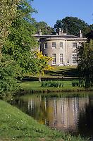 """Europe/Grande-Bretagne/Ecosse/Highland/Nairn : Hôtel de charme """"Boath House"""" demeure de style Géorgien planté dans un parc arboré et égayé d'un plan d'eau"""