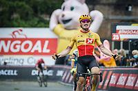 Rasmus Tiller (NOR/Uno-X) wins the 17th Dwars Door Het Hageland 2021<br /> One Day Race: Aarschot – Diest 18Okm (UCI 1.Pro)<br /> Bingoal Cycling Cup 2021<br /> <br /> ©kramon