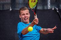 Rotterdam, Netherlands, August21, 2017, Rotterdam Open, Lars Bijsterbosch (NED)<br /> Photo: Tennisimages/Henk Koster