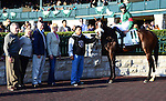 Madame Giry and Eddie Castro win the Buffalo Trace Franklin County Stakes at Keeneland Racecourse.October 12, 2012.