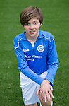 St Johnstone FC Academy U13's<br /> Calum Kay<br /> Picture by Graeme Hart.<br /> Copyright Perthshire Picture Agency<br /> Tel: 01738 623350  Mobile: 07990 594431
