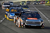 NASCAR Camping World Truck Series<br /> winstaronlinegaming.com 400<br /> Texas Motor Speedway, Ft. Worth, TX USA<br /> Friday 9 June 2017<br /> Christopher Bell, JBL Toyota Tundra and Chase Briscoe, Cooper Standard Ford F150<br /> World Copyright: Nigel Kinrade<br /> LAT Images<br /> ref: Digital Image 17TEX2nk03769