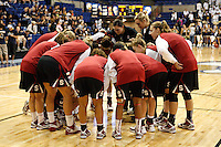 DAVIS, CA - NOVEMBER 22:  Sarah Boothe and the team during Stanford's 76-51 win over UC Davis on November 22, 2009 in Davis, California.